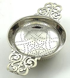 Tiffany sterling tea strainer