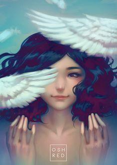 Wings, osh RED on ArtStation at https://www.artstation.com/artwork/AeyG5