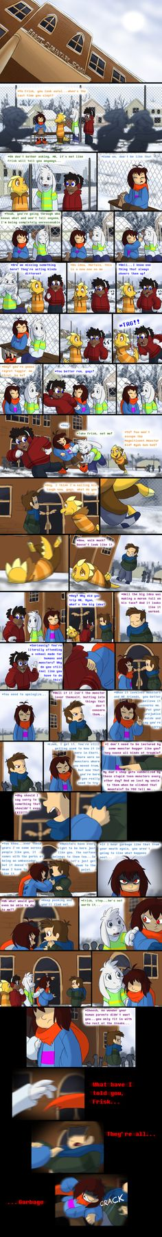Endertale - Page 22 by TC-96 on DeviantArt **latest page**