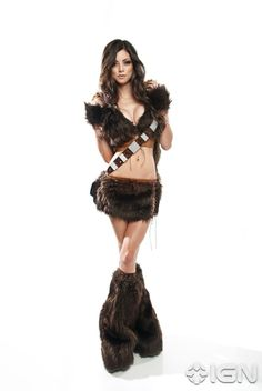 LEEANNA VAMP AS SEXY LADY CHEWBACCA- Huge fan of her!