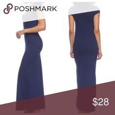 Navy blue dress Navy blue maxi dress PLEASE USE Poshmark new option you can purchase and it will give you the option to pick the size you want ( all sizes are available) BUNDLE And SAVE 10% ( sizes updated daily ) Dresses Maxi