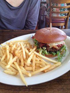 Best burger & fries at The Pub at Golden Road, Glendale, CA