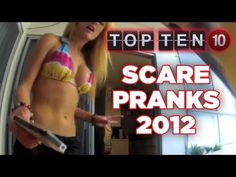 We got a lot of great scare pranks from our fans since last Halloween.    10 Spider Gag Causes Spill 00:06  9 Mom's Pantry Surprise 00:29  8 Closet Airhorn VS Angry Southpaw 01:12  7 Hot Girl Spider Prank on BF 01:37  6 Clown Dorm Room Ambush 02:22  5 Creepy Wake Up - Quiet Scare 02:43  4 Meal Worm Revenge on Hot Girl 03:13  3 Girl Gets BFF With Flawles...