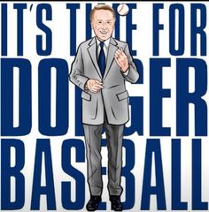 I added this pin because the Dodgers are my all time favorite baseball team and Vin Scully is a big name/face to the organization. Dodgers Baseball, Dodgers Gear, Dodgers Shirts, Dodgers Nation, Let's Go Dodgers, Dodgers Party, Dodger Blue, Better Baseball, Go Blue