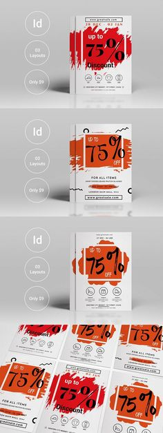 Big Sale Offer Flyer Template Flyer template and Psd templates - for rent flyer template