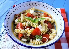 Summer Pasta Salad. This website is also the BEST for Italian foods and recipes.