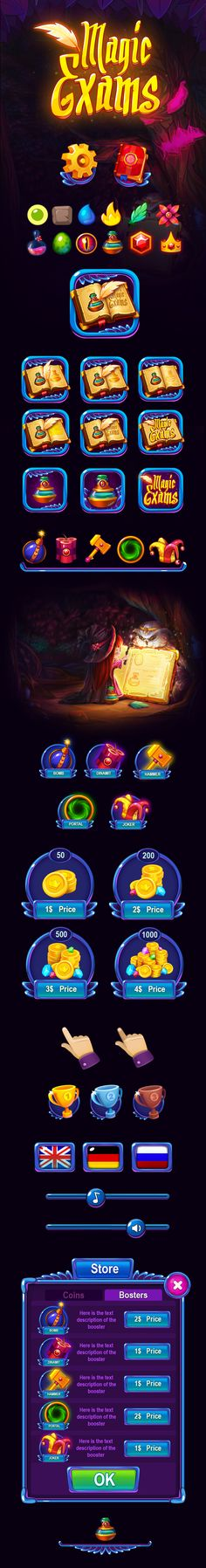 Magic Exams on Behance