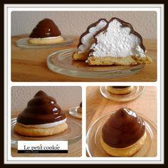 Ricarditos de merengue y chocolate Chocolate, Pancakes, French Toast, Breakfast, Sweet, Food, Meringue, Food Recipes, Cook