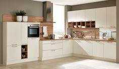 Trend-Einbauküche Anzere Weiss - Küchen Quelle