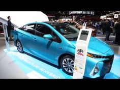 Live from 2016 Paris Auto Show - Toyota Prius plug-in - YouTube