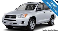 2012 TOYOTA RAV4 / $2,100 IN COUPONS ! Get FREE coupons now!!! -