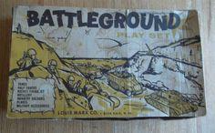 """RARE 97 Complete Marx """"Korean War"""" Battleground 3745   eBay"""
