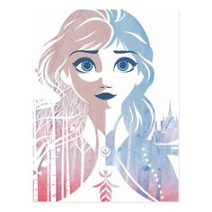 Frozen 2 | Anna - Born this Way Postcard