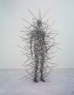 QUANTUM CLOUD IX, 1999 by Antony Gormley