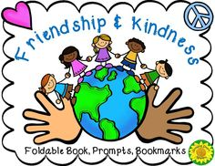Promote Friendship and Kindness with this packet: mini book, bookmarks, and several writing activities. Templates for poetry and letter writing about friends, kindness and peace.