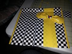 """Made this """"Taxi """" makeup/ Pencil bag today. One of my favorites. Made from duct tape."""