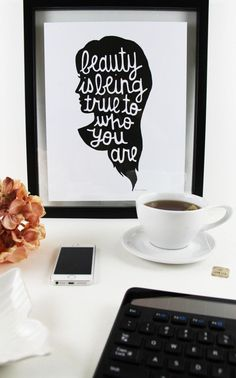 Starting the day with Your Tea and thoughts on being true to who you are.