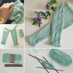 En favorit bliver til Love Knitting, Knitting For Kids, Baby Knitting Patterns, Knitting Projects, Crochet Patterns, Baby Pants, Kids Pants, Diy Bebe, Baby Pullover