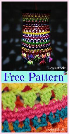 10+ Beautiful Crochet Lampshade – Free Pattern #freecrochetpatterns #lampshade #homedecor