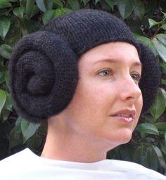 Pattern Knit Leia Wig by ansleybleu on Etsy, $7.95