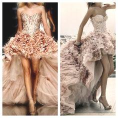 big pink dress