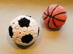 Balones de fútbol o baloncesto de chuches de LACHUCHETERIA en Etsy
