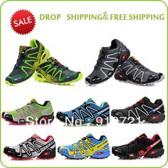2013 new style name brand Salomon men Athletic Running Shoes ,hot sale tenis designer zapatillas free shipping $41.89