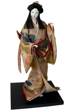 Japanese antique doll, 1930's