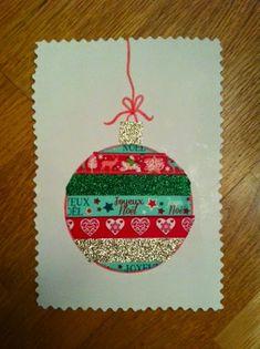 Dans la peau d'une fille: Jeudi création : réaliser des cartes de Noël en DI...