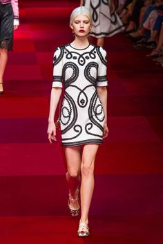 dolce & gabbana, spring 2015 rtw - you need a gorgeous rehearsal dress too! :)