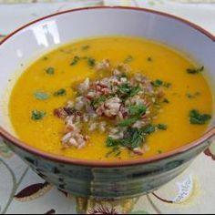 Cream of Carrot Soup with Curry @ http://allrecipes.com.au