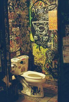 concert bathroom - Writing inspiration #nanowrimo #settings #scenes