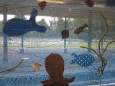 Kaarisillan käsityö: Merenalaista elämää 3-4lk tilkkumaalaus