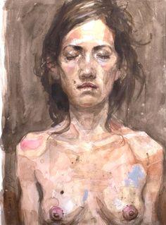 Craig Hanna, MELODY, 2010, Aquarelle sur Papier, 30x40 cm
