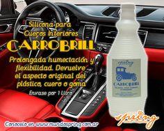 Silicona para Cueros Interiores CARROBRILL. Envase por 1 litro.