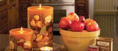 ROSY RINGS / botanical Candle