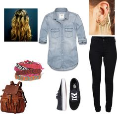 """style 156"" by brooklyncute on Polyvore"