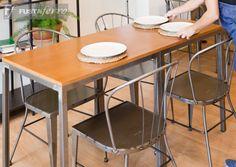 Sillas y mesas de forja modelo industrial / vintage para hosteleria de www.fustaiferro.com  Sambhu bar & kitchen https://fustaiferro.wordpress.com/ #diseño #instalaciones #diseño #bar #Valencia