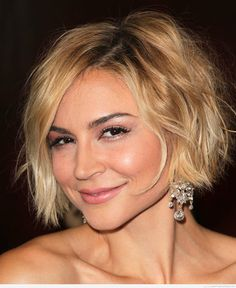 Cute Short Haircuts for Women with Square Faces