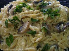 Συνταγή ΚΡΙΘΑΡΟΤΟ Cookbook Recipes, Cooking Recipes, Greek Recipes, Pasta Dishes, Recipies, Risotto, Spaghetti, Food And Drink, Tasty
