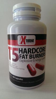 #T5 HARDCORE #FAT BURNERS - EXPLOSIVE ENERGY
