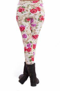 Rose Leggings
