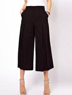 Loca perdida, obsesionada con los   #culottes ¿Y tu? www.thinkinfashion.blogspot.mx