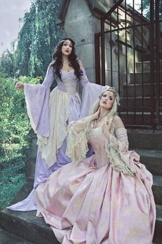 Lady Gwen Lace Up Fantasy Medieval Velvet and by RomanticThreads, $545.00  Rennaisance Faire com in up...just sayin.