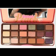 Sweet Peach Palette Just used once. (Used one or two colors) if you have merc.ari I will sell for 65 on there Too Faced Makeup Eyeshadow