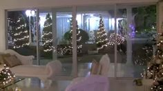 christmas decorating home tour - YouTube