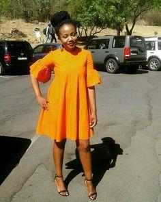 Blue off shoulder African Print Ankara Dashiki Seshoeshoe Seshweshwe Dress African Fashion Designers, African Print Fashion, Africa Fashion, African Fashion Dresses, African Attire, African Wear, African Dress, African Style, African Fabric