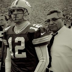 Here Is A Little Project I Put Together Of Aaron Rodgers And Vince Lombardi