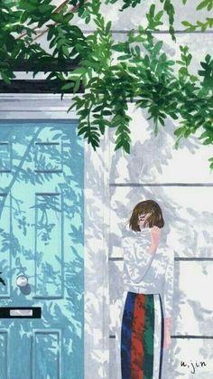 what to draw Cover Wattpad, Illustration Art, Illustrations, Anime Art Girl, Aesthetic Art, Cute Drawings, Cute Wallpapers, Aesthetic Wallpapers, Cute Art