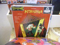Ernest Ansermet Petrushka Stravinsky vinyl LP London FFrr Records EX blue back Rare Vinyl Records, Baseball Cards, Music, Ebay, Bakken, Musica, Musik, Muziek, Music Activities